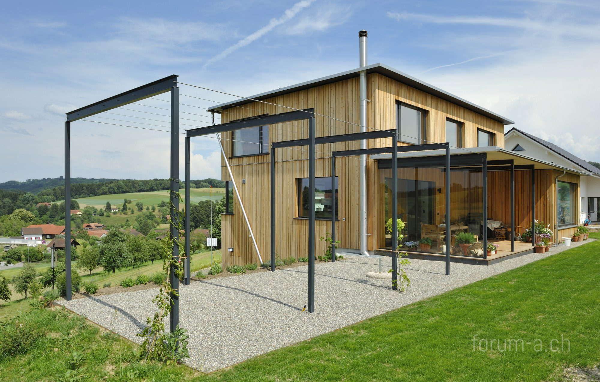 Einfamilienhaus in roggliswil forum a architektur for Architekt holzhaus