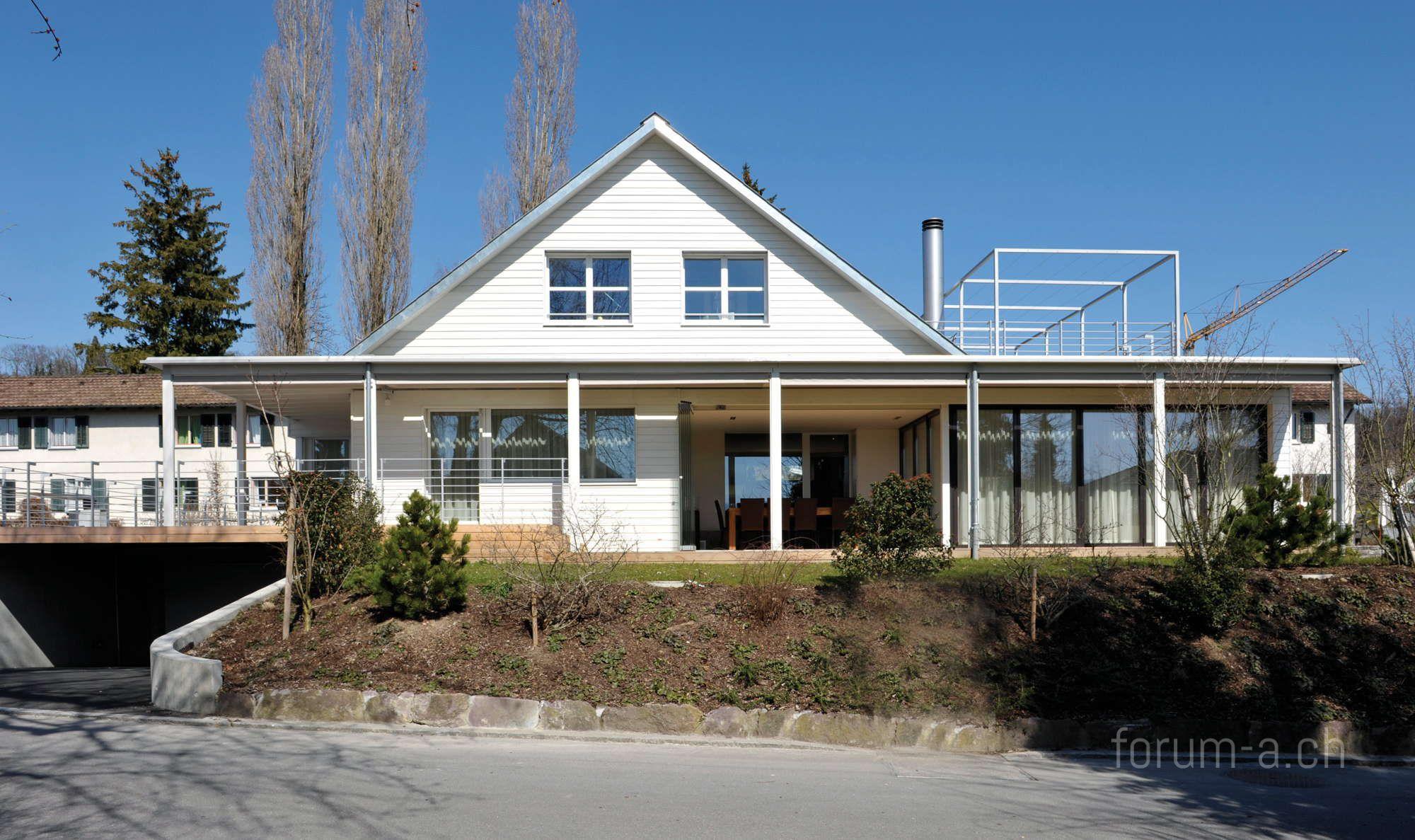 Umbau und erweiterung einfamilienhaus in meilen forum a for Innenarchitektur einfamilienhaus